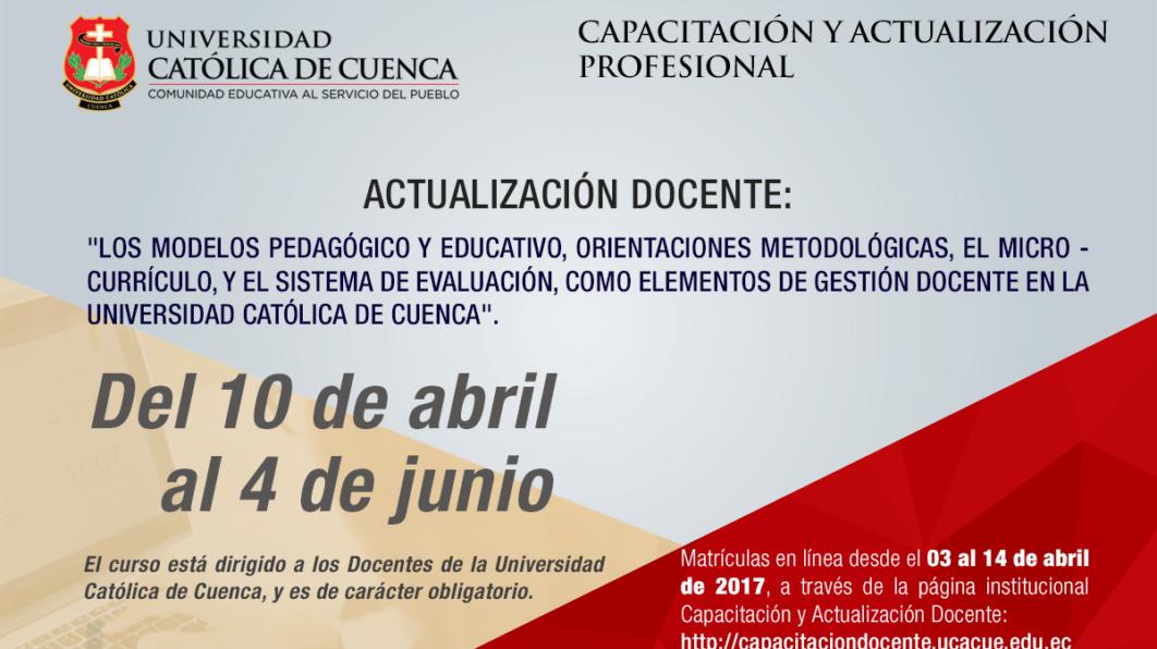 Los modelos pedagógico y educativo, orientaciones metodológicas,  el micro – currículo,  y el sistema de evaluación, como elementos de Gestión Docente en la UCACUE